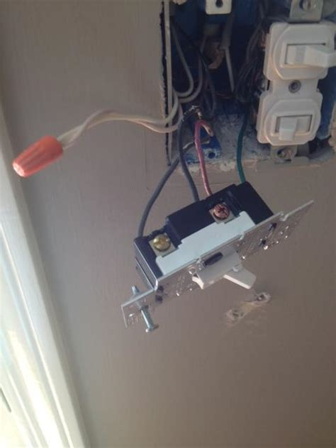 electrical replacing a toggle dimmer switch with a