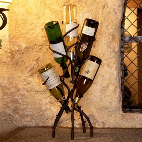 Wine Tree Rack by Wine Tree Eclectic Wine Racks Atlanta By Iron Accents