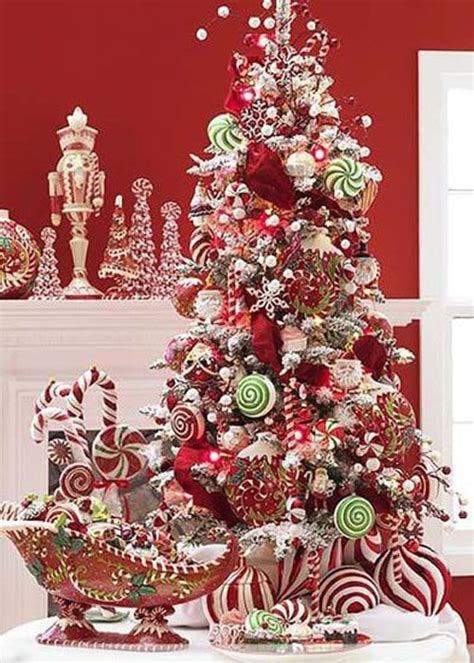candy land tree holiday ideas pinterest