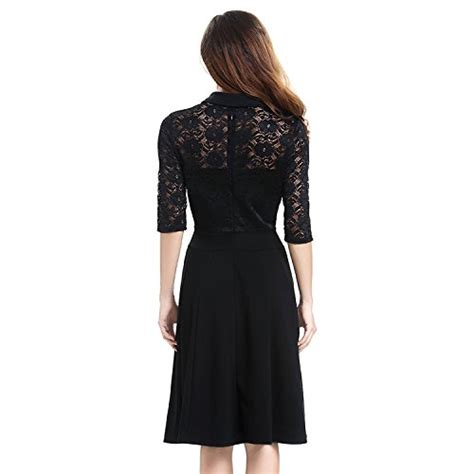 20238 Import Cotton Shirt Half Lace Sleeve Casual Top Whiteblack lace dress vitalismo a line knee length half sleeve cocktail dress dresses