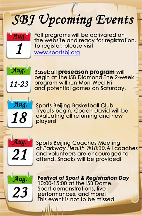 Promoter Upcomin Events Listing upcoming events sports beijing