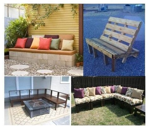cinder block couch furniture pallet chair and inspiration on pinterest