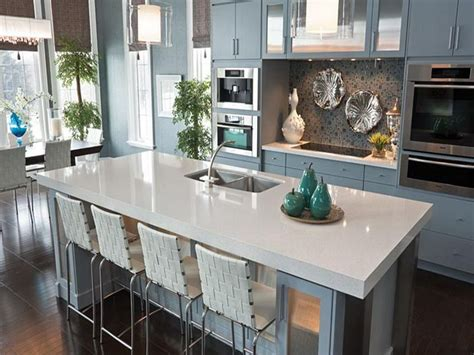 quartz kitchen countertop ideas kitchen cool blue quartz countertops cambria white quartz