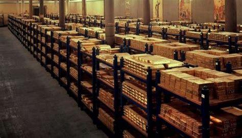 acquisto oro in banca la banca d inghilterra presenta il caveau con i lingotti d