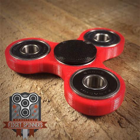 Fidget Spinner Spinner Toys edc spinner tri bar fidget with caps
