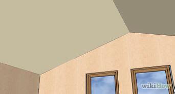 come tinteggiare il soffitto 3 modi per installare i pannelli sul soffitto wikihow