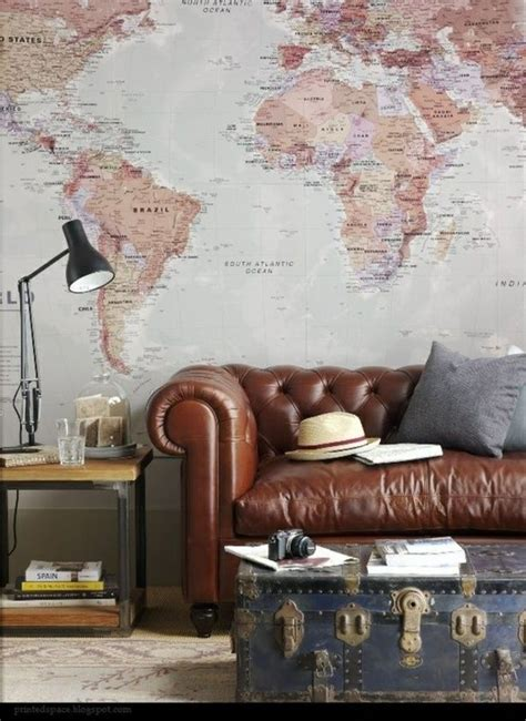 map home decor 21 cool tips to steunk your home