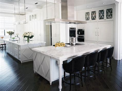 White Kitchen Island With Seating | feng shui kitchen paint colors pictures ideas from hgtv