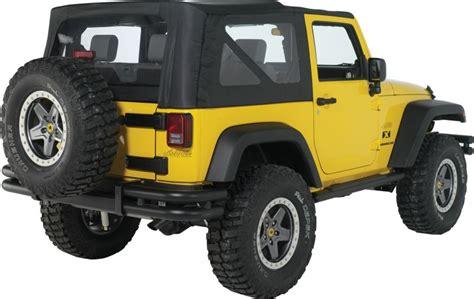 Jeep Wrangler Unlimited Mopar Mopar 82209915ae Mopar 174 Tubular Rear Bumper In Satin