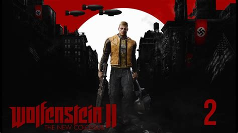 wolfenstein ii the new 0744018307 wolfenstein ii the new colossus en espa 241 ol cap 237 tulo 2 quot la reuni 243 n quot youtube