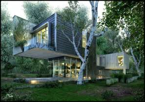Beatiful House by Amazing Renderings Of Beautiful Houses