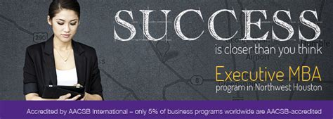Executive Mba Programs In Houston by Executive Mba College Of Business