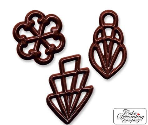 chocolate filigree templates 490 filigrees classic chocolate shapes baking retail