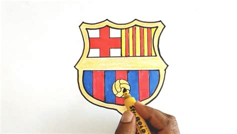 tutorial logo barcelona how to draw the fc barcelona logo funnydog tv