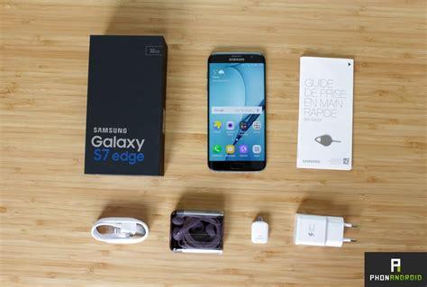Samsung S7 Edge Ori Copotan Non Test test samsung galaxy s7 edge le smartphone qui repousse les limites