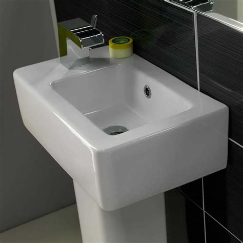 Corner Pedestal Bathroom Sink by Bathroom Modern Corner Pedestal Sink With Faucet Corner