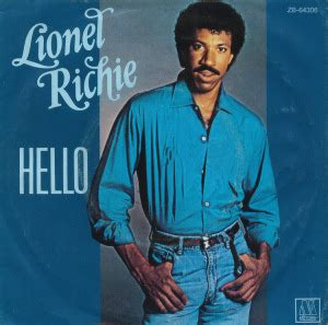Kaos Lionel Richie Hello 05 1984 all charts weekly top 40