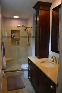 Small Master Bathrooms by Small Master Bathroom Remodel Flood Remodel Pinterest