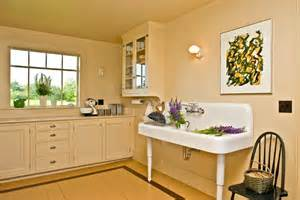 1930s Kitchen Design by An Artistic Farmhouse Restoration In Maine Old House