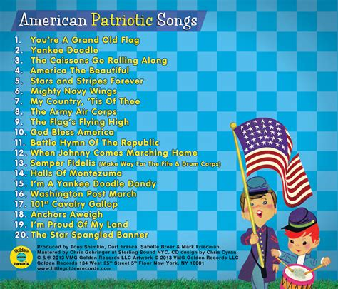 product review golden records american patriotic songs