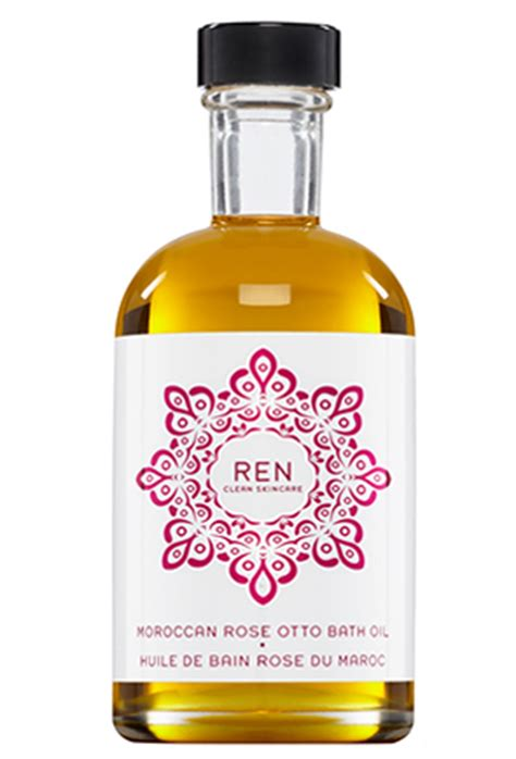 otto bathroom moroccan rose otto bath oil ren