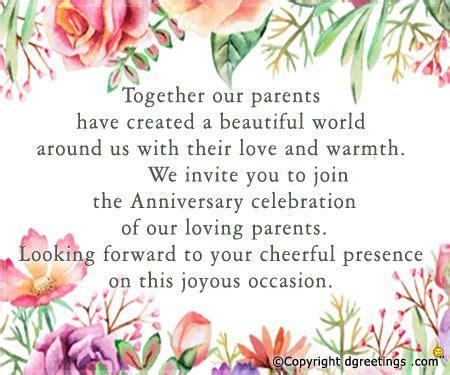 Anniversary Invitation Wording, Free Anniversary