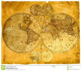 Paper World Map by Old Paper World Map Royalty Free Stock Image Image 9689016