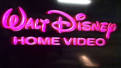 1986 walt disney home video logo aka youtube walt disney home video logo from 1986 youtube