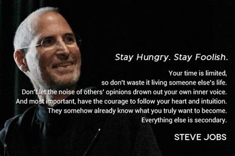 Steve Quote Poster Stay Hungry Stay Foolish Hiasan Dinding inspired by steve on this day of the month words to live by steve