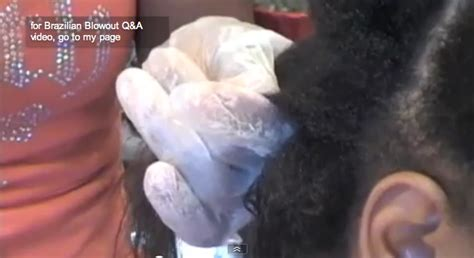 brailizain blow out on african american hair brazilian blowout on african american hair