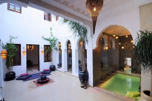 House Plans With Courtyard Pools marrakech riads with amazing interior design luxury