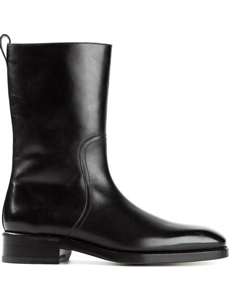 tom ford mens boots tom ford side zip boots in black for lyst