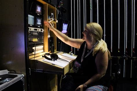 Stage Managers Desk by Backstage Pass What Goes On The Stage Of The