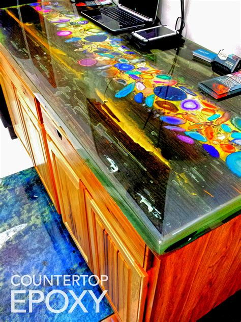 acrylic bar top resin endless possibilities with countertop epoxy counter top