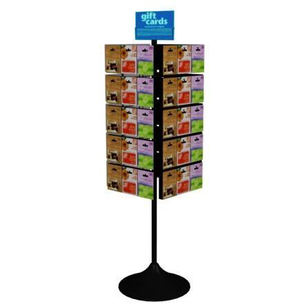 gift card rack floor spinner gift card display rack 101099494
