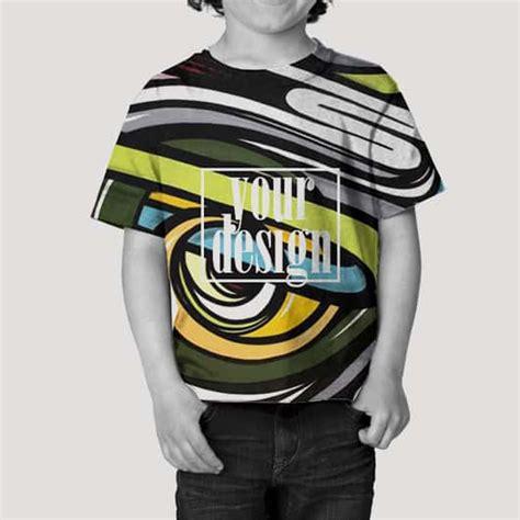 Kaos Kaki Printing Anak 2 Sisa Depan Belakang toddler tshirt fullprint 4