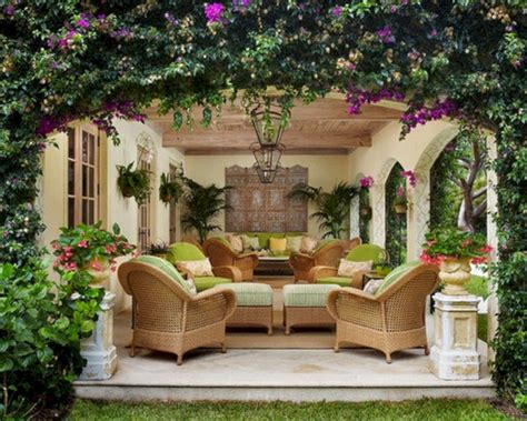 Tropical Patio Design 24 Awesome Small Backyard Inspirations With Colorful Flower Ideas 24 Spaces