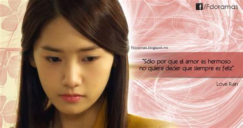 imagenes coreanos de amor con frases love rain