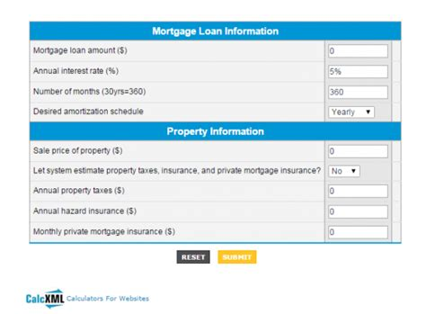 online housing loan calculator mortgage loans mortgage loan balance calculator