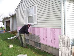 Installing faux stone panels made easy pictures to pin on pinterest