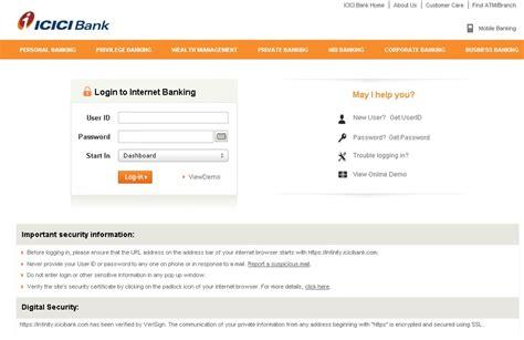 login to icici bank icici bank banking login