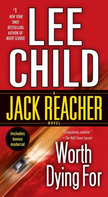 libro worth dying for the worth dying for jack reacher series 15 by lee child paperback barnes noble 174