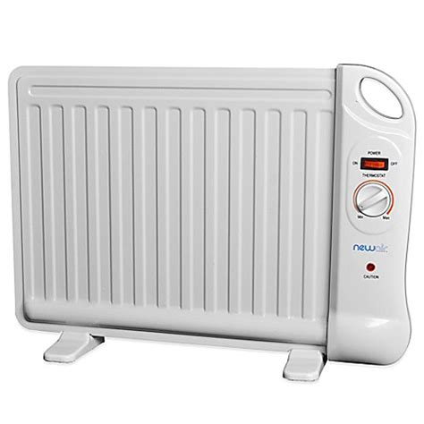 oil filled bathroom radiator buy newair portable oil filled space heater from bed bath