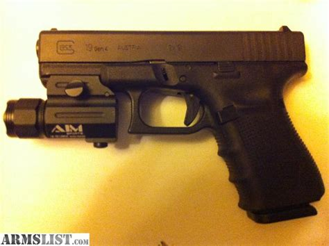 glock 19 4 tactical light armslist for sale bnib glock 19 4 w tactical light