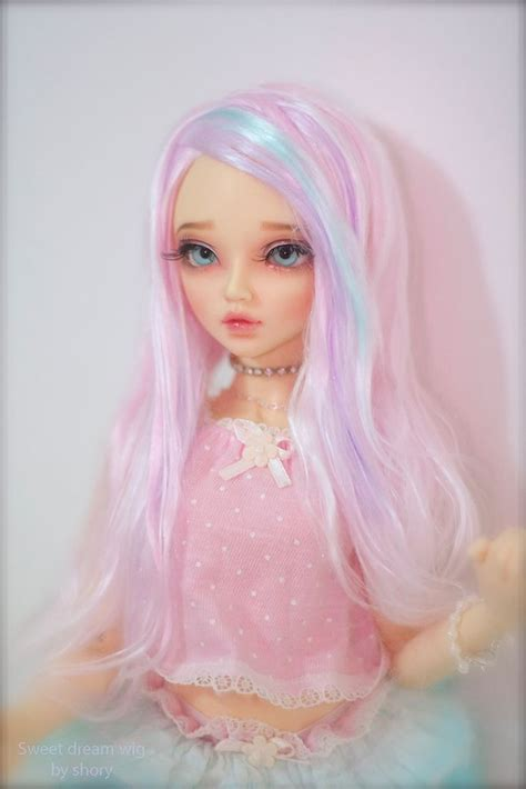 jointed dolls realistic wig bjd dolls and
