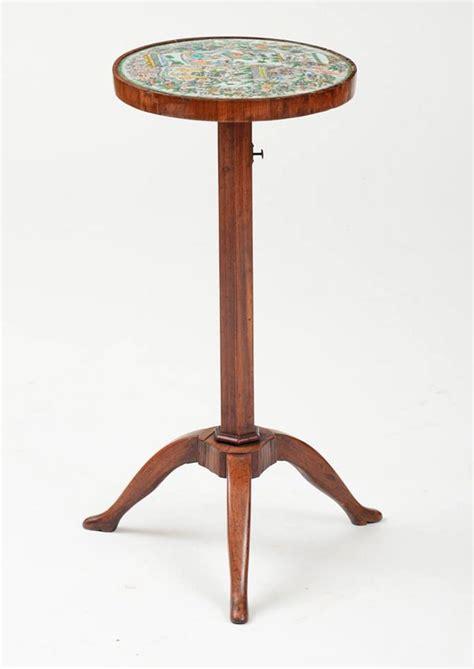 Tripod Di Bec a directoire walnut tripod candlestand with