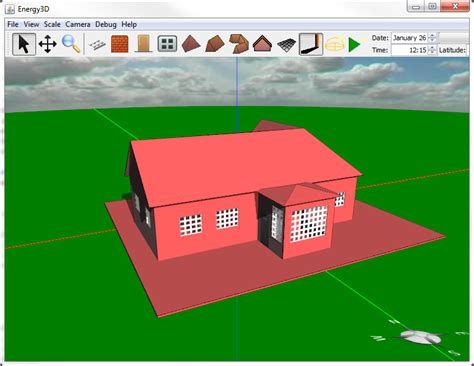 customize your own house design your own house with energy3d the concord consortium
