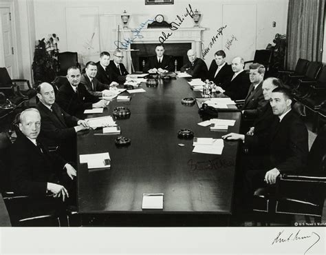 john f kennedy cabinet the fog of war
