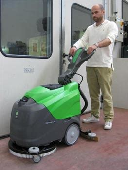 Vinyl Floor Cleaning Machine by Ipc Eagle Ct45b50 Automatic Scrubber 20 With Brush Agm