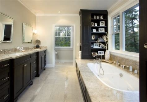dark cabinets bathroom master bathroom like dark cabinets light neutral